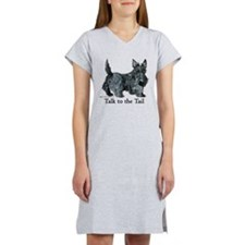Cute Scottish terrier rescue Women's Nightshirt
