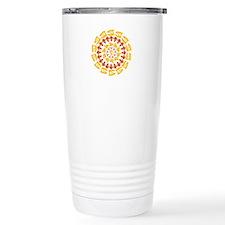 Paleo Kaleidescope Travel Coffee Mug