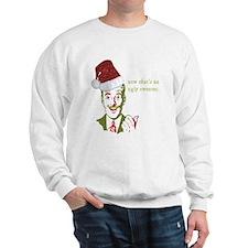She wore WHAT?? Sweatshirt