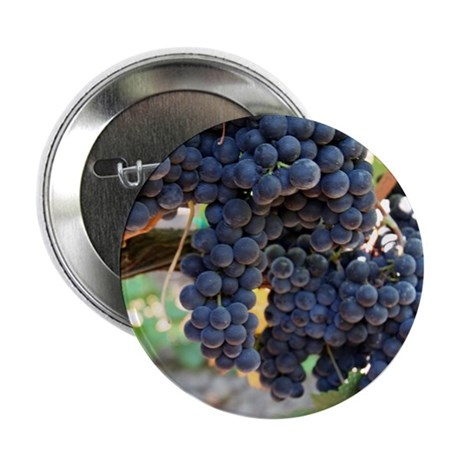 """Napa Grapes as Art 2.25"""" Button (10 pack)"""