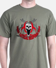 Zombie tactical response red T-Shirt