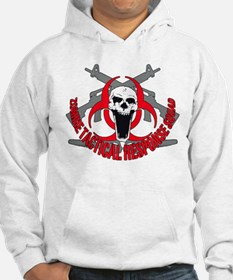 Zombie tactical response red Hoodie
