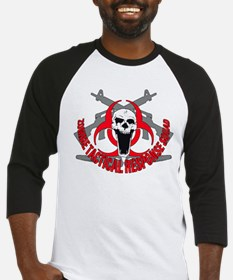Zombie tactical response red Baseball Jersey
