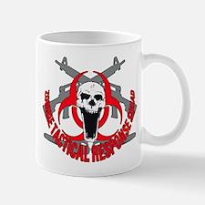 Zombie tactical response red Mug