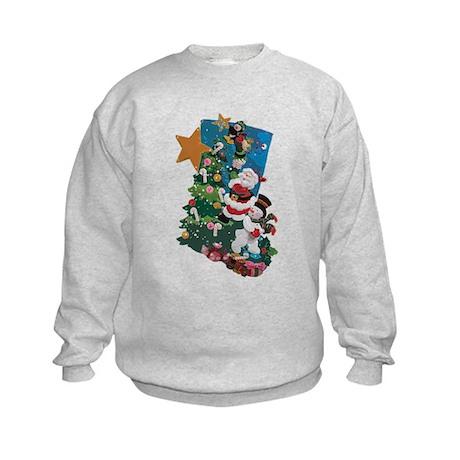 Hang it On the Mantle! Kids Sweatshirt