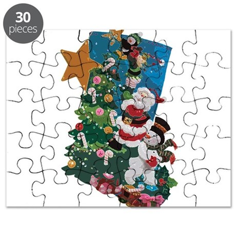 Hang it On the Mantle! Puzzle