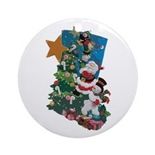 Hang it On the Mantle! Ornament (Round)