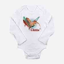 Bearded Dragon Chillin Infant Creeper Body Suit