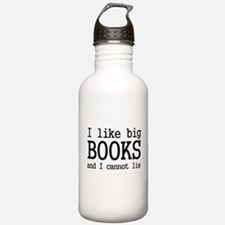 Cute Big books Water Bottle