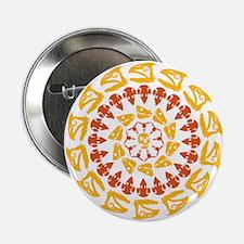 """Paleo Kaleidescope 2.25"""" Button"""