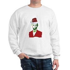 Merry Xmas, Abe! Sweatshirt