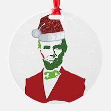 Merry Xmas, Abe! Ornament