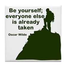 Be Yourself Tile Coaster