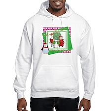 Santa's Christmas Card Hoodie