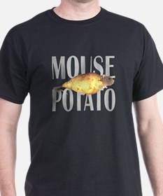 MOUSEPOTATO Black T-Shirt