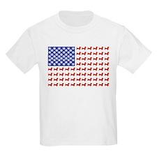 Patriotic Dachshund/USA T-Shirt