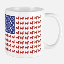 Patriotic Dachshund/USA Mug