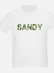 Sandy, Vintage Camo, T-Shirt