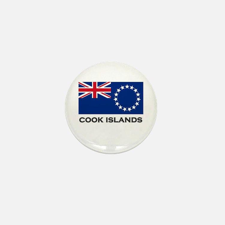 The Cook Islands Flag Stuff Mini Button