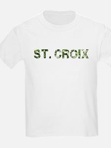 St. Croix, Vintage Camo, T-Shirt