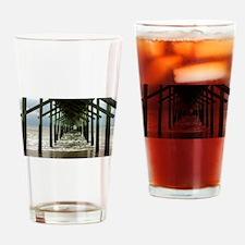 Ocean Pier Drinking Glass