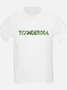 Ticonderoga, Vintage Camo, T-Shirt