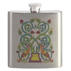 Celtic Tree of Life Flask