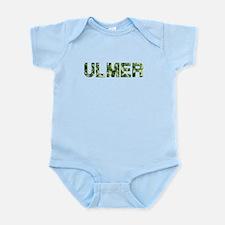 Ulmer, Vintage Camo, Infant Bodysuit