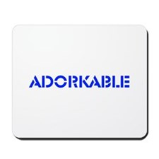 Adorkable Mousepad