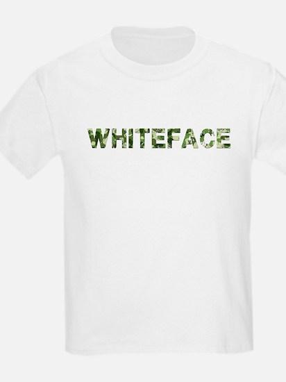 Whiteface, Vintage Camo, T-Shirt