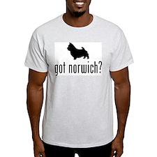 Norwich Terrier Ash Grey T-Shirt