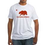 Strk3 California Republic Fitted T-Shirt