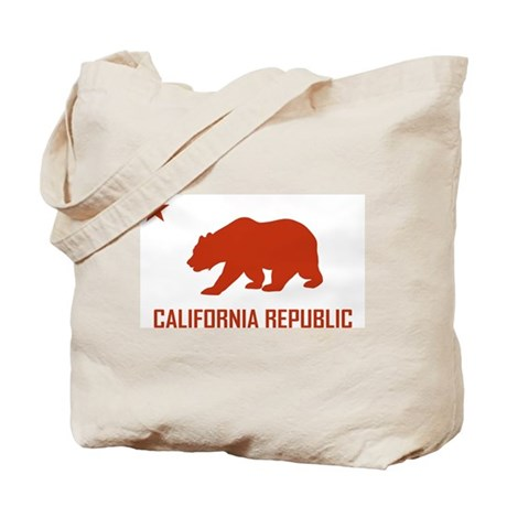Strk3 California Republic Tote Bag