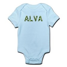 Alva, Vintage Camo, Infant Bodysuit