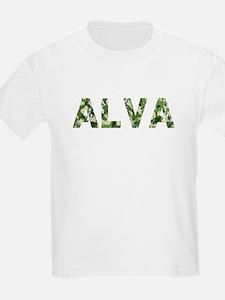 Alva, Vintage Camo, T-Shirt