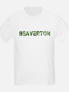 Beaverton, Vintage Camo, T-Shirt