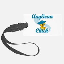 Anglican Chick #3 Luggage Tag