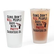 Guns Dont Kill People Drinking Glass
