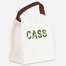 Cass, Vintage Camo, Canvas Lunch Bag