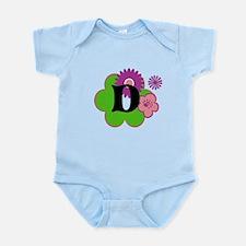 Letter D Infant Bodysuit