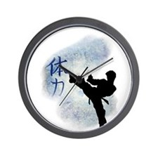 Power Kick 2 Wall Clock