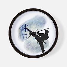 Power Kick 2 Wall Clock
