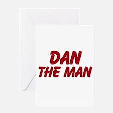 Dan The Man Greeting Card