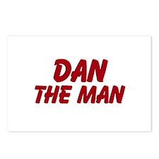 Dan The Man Postcards (Package of 8)