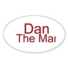 Dan The Man Decal