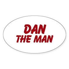Dan The Man Decal