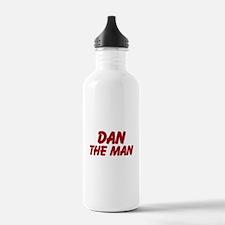 Dan The Man Water Bottle