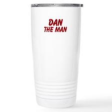 Dan The Man Stainless Steel Travel Mug
