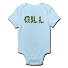 Gill, Vintage Camo, Infant Bodysuit