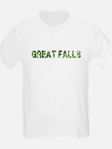 Great Falls, Vintage Camo, T-Shirt